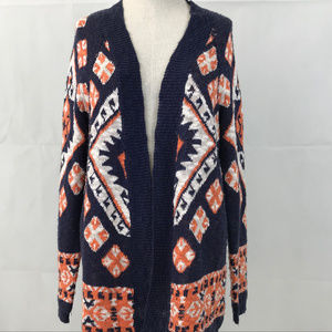 Flying Tomato open front cardigan sweater